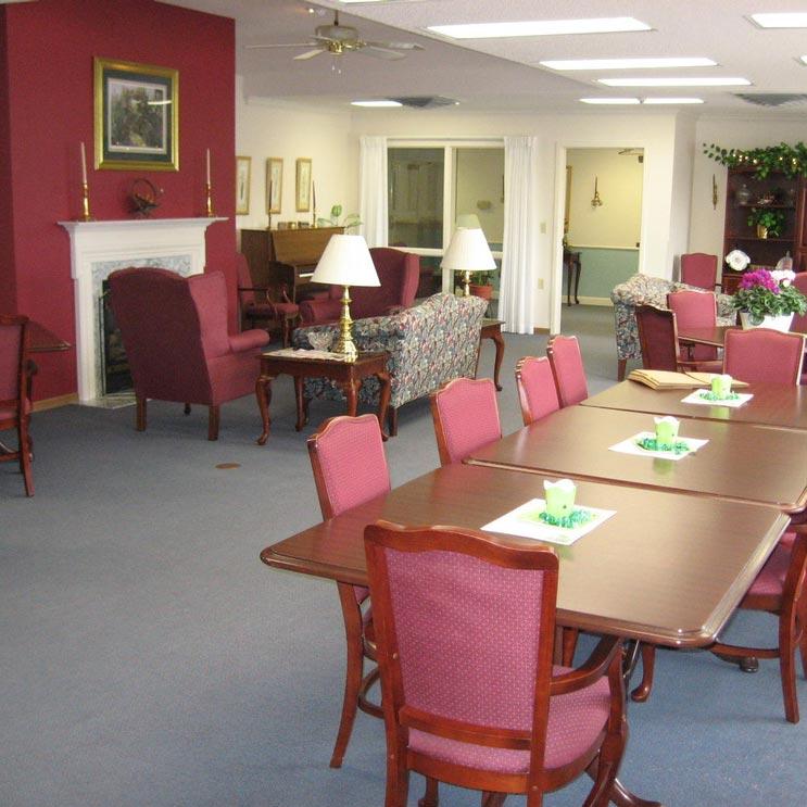Regency Retirement Community Room